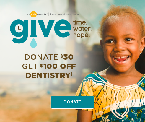 Donate $30, Get $100 Off Dentistry - Smyrna Modern Dentistry